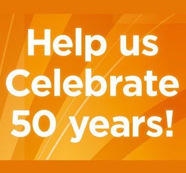 Help us celebrate 50 years!