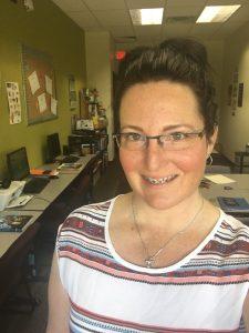 Teacher Amy Stewart