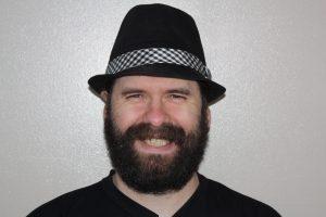Rick Braniff wearing black hat